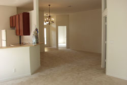 living room in Palm bay fl home
